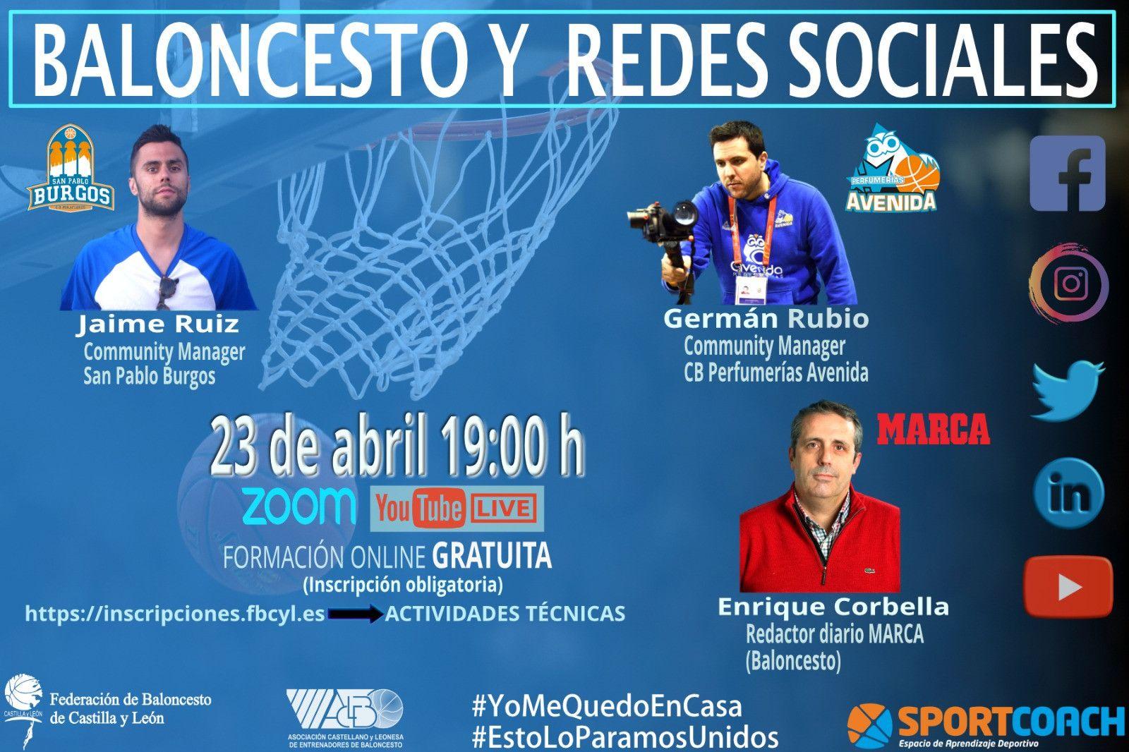 Cartel Baloncesto RedesSociales