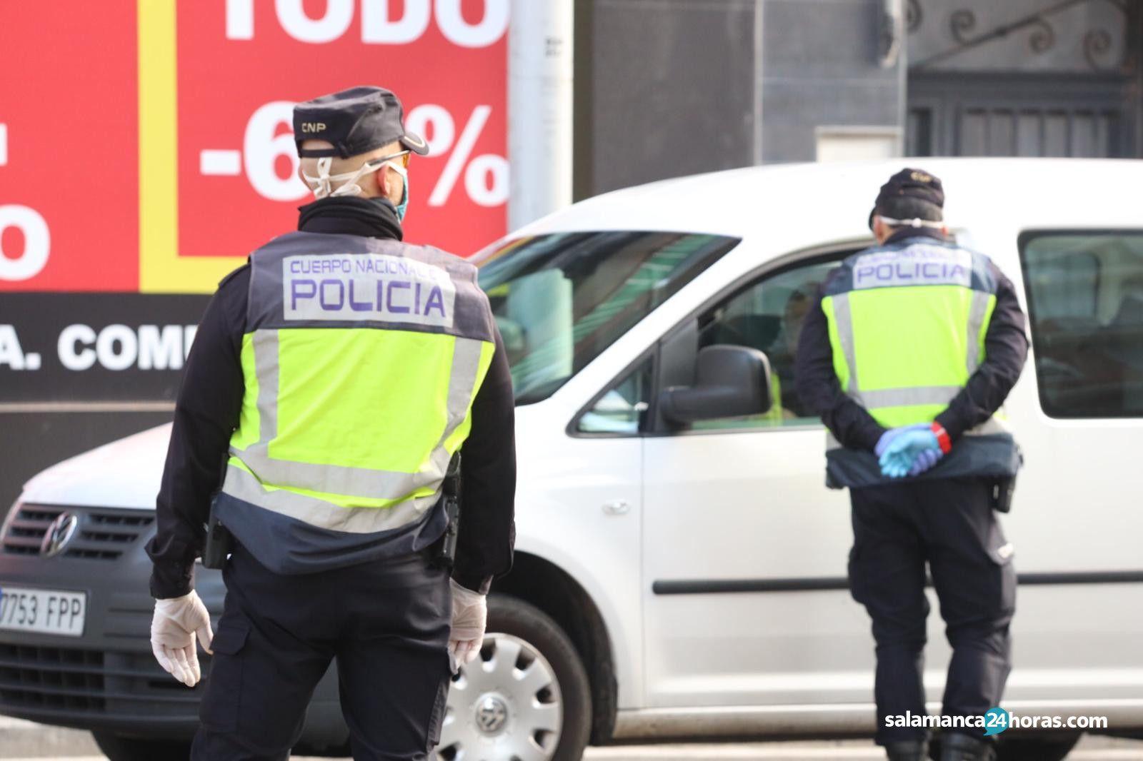Policía nacional control avenida Italia (6)