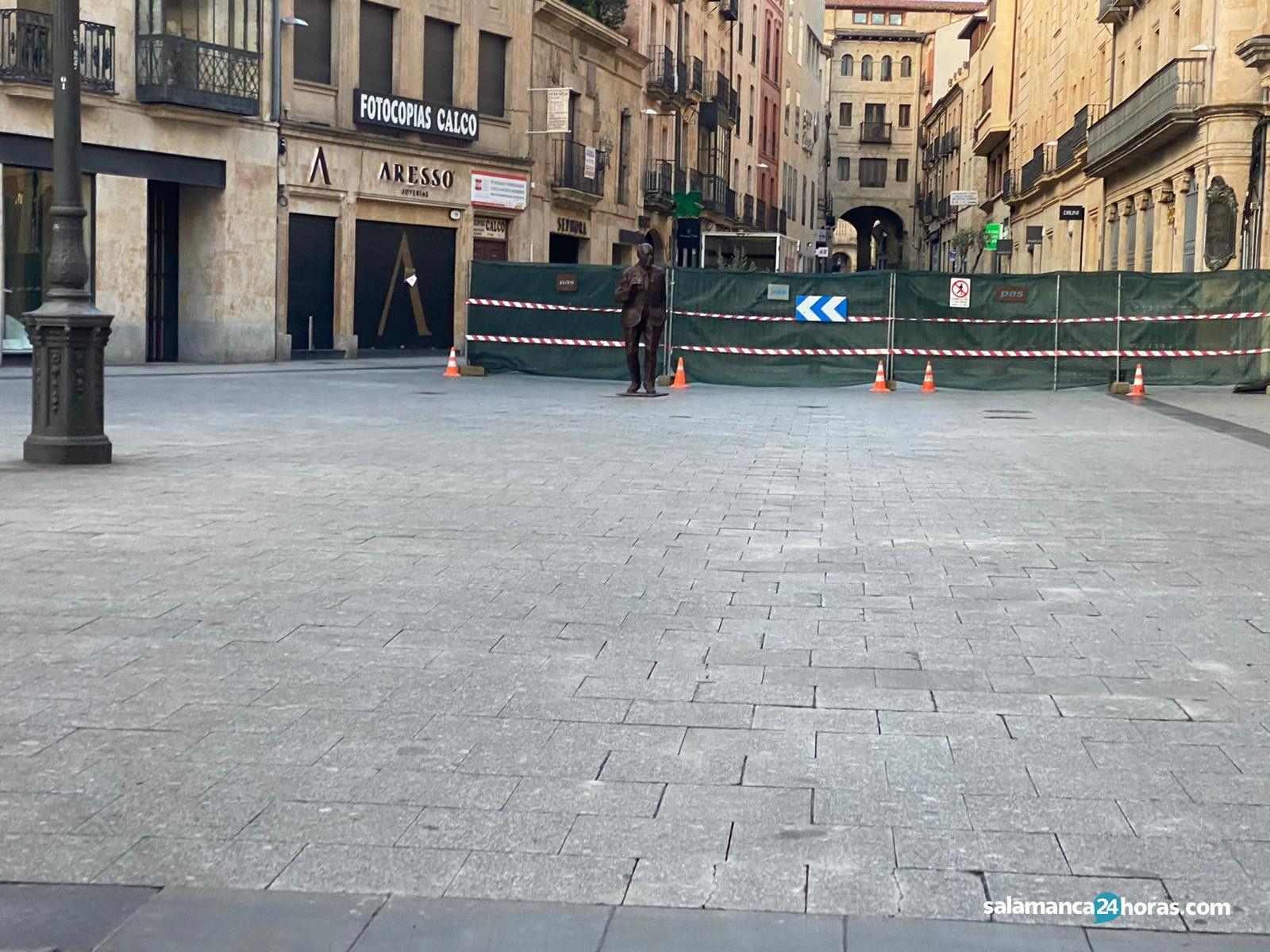 Obras calle Especias 1
