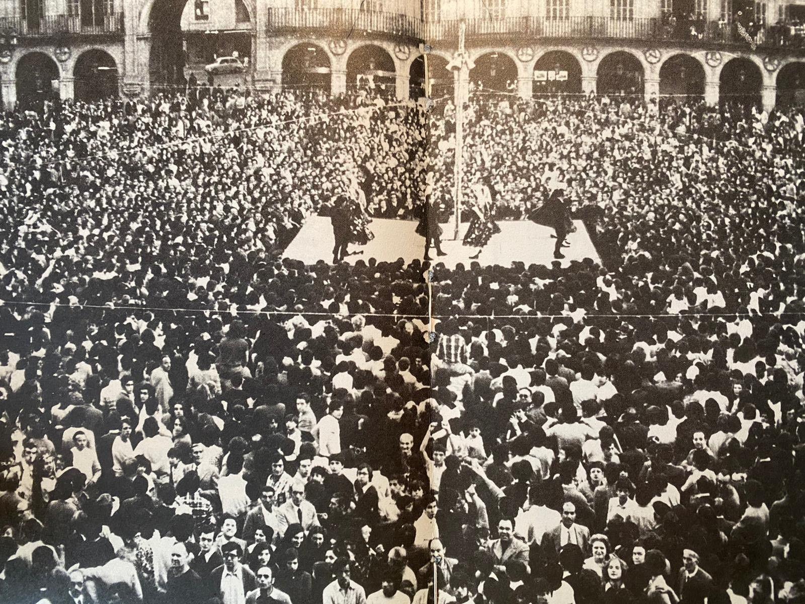Plaza Mayor ascenso UDS 1974