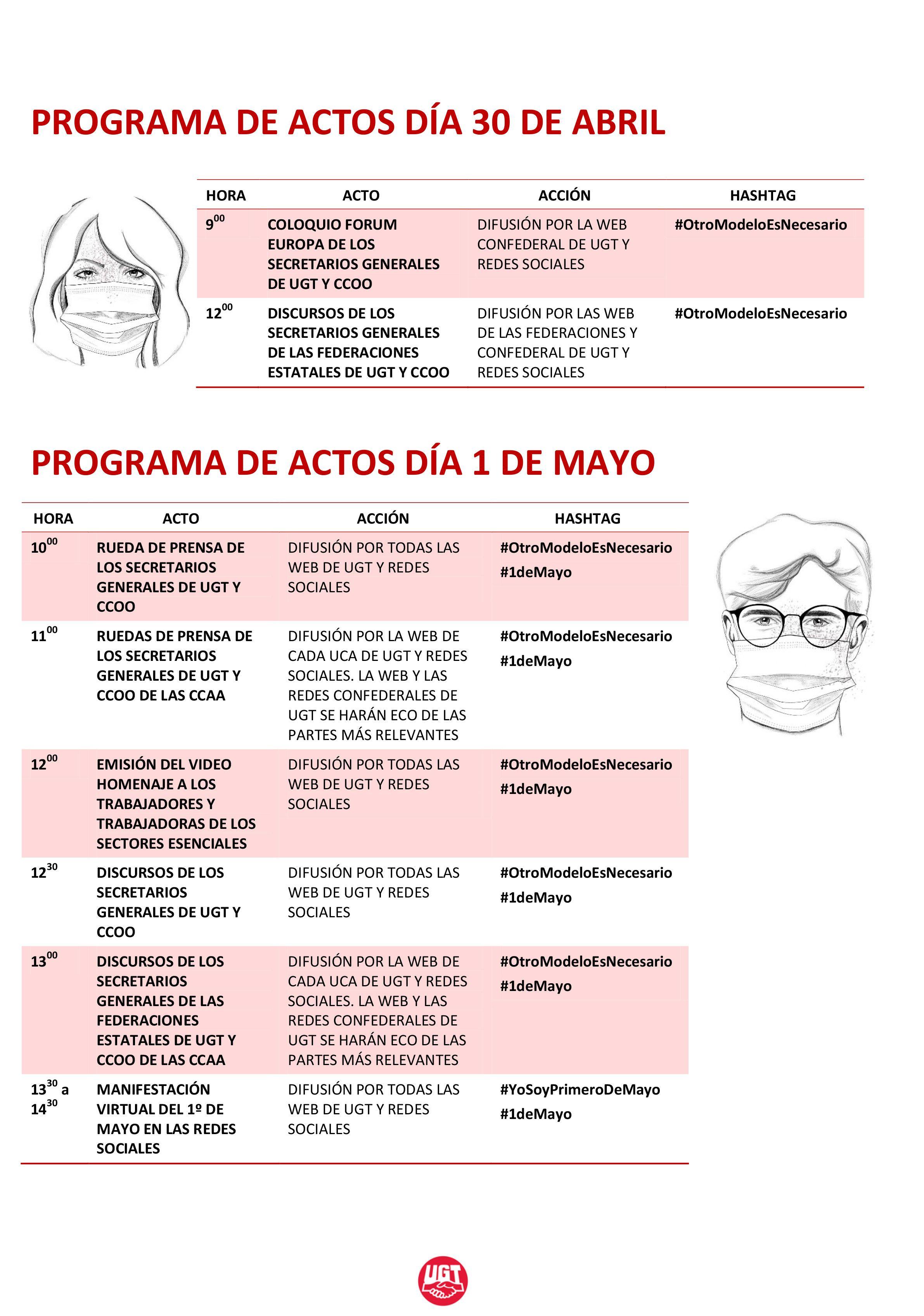 PROGRAMA ACTOS 1 DE MAYO 2