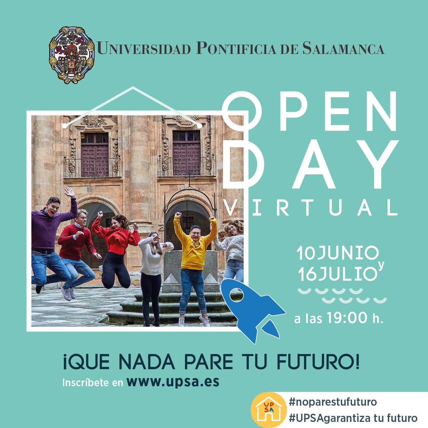 Open day virtual 10junio 16julio