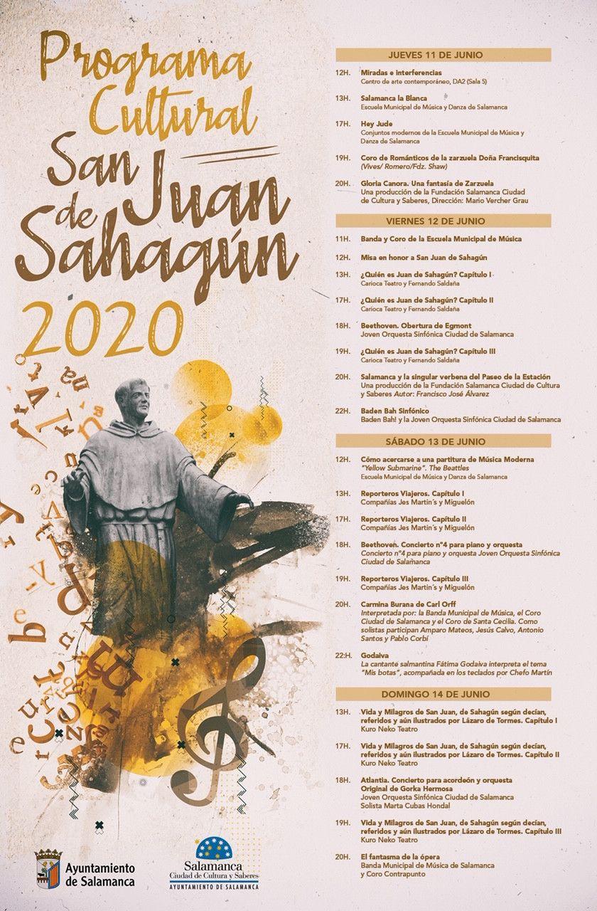 Programa cultural San Juan 2020