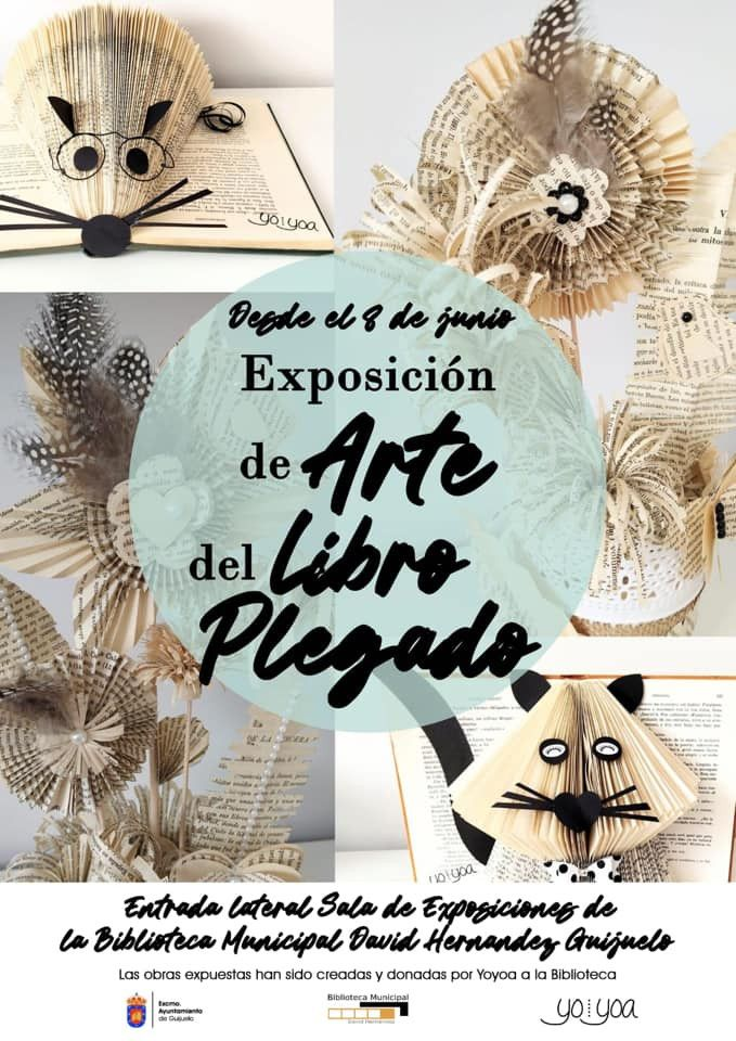 Exposiciu00f3n Arte del libro plegado Guijuelo