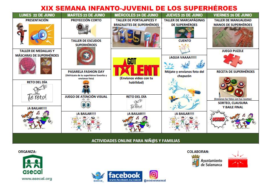 Programa semana infanto juvenil 2020