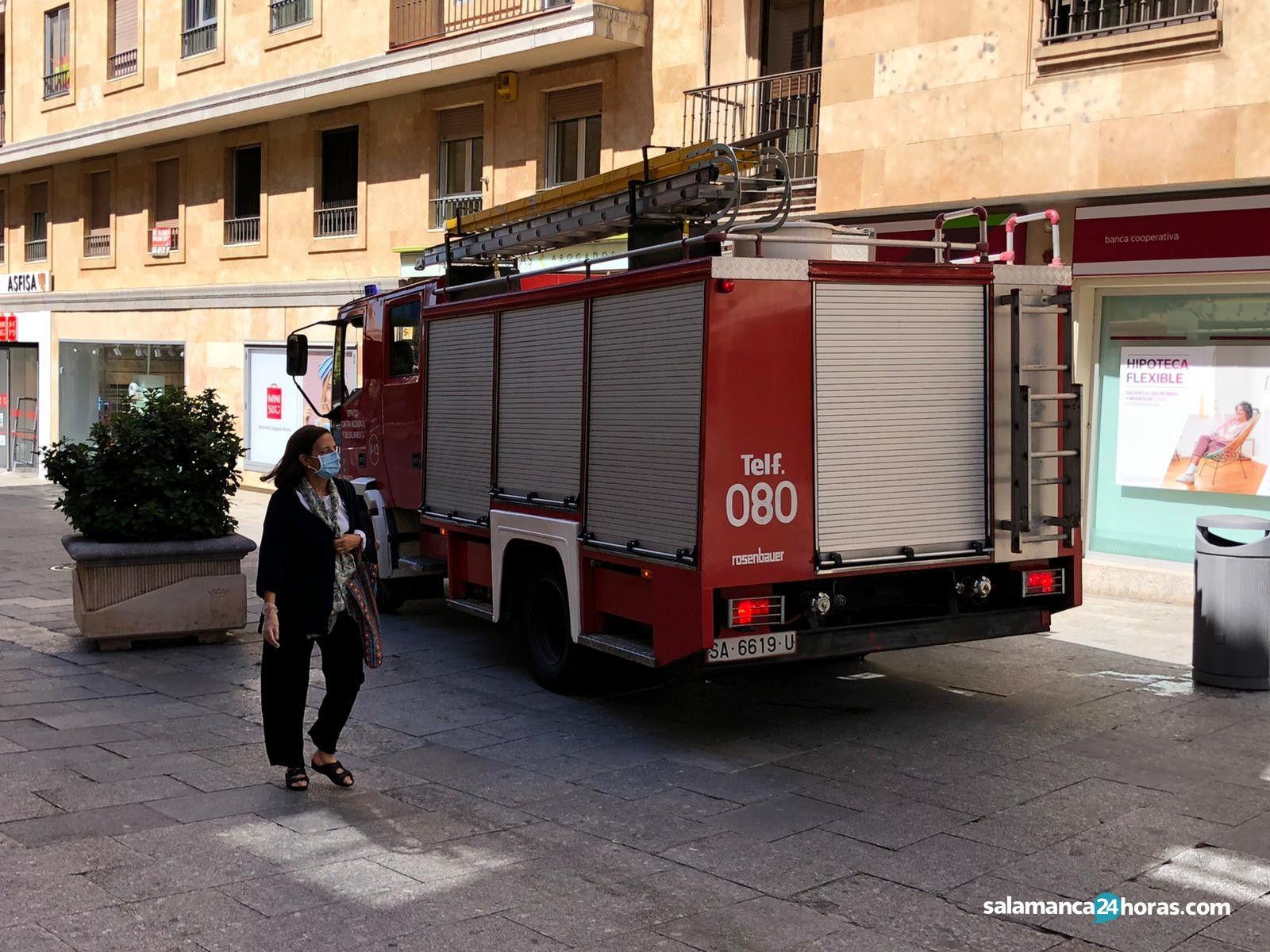 Bomberos calle Zamora 3
