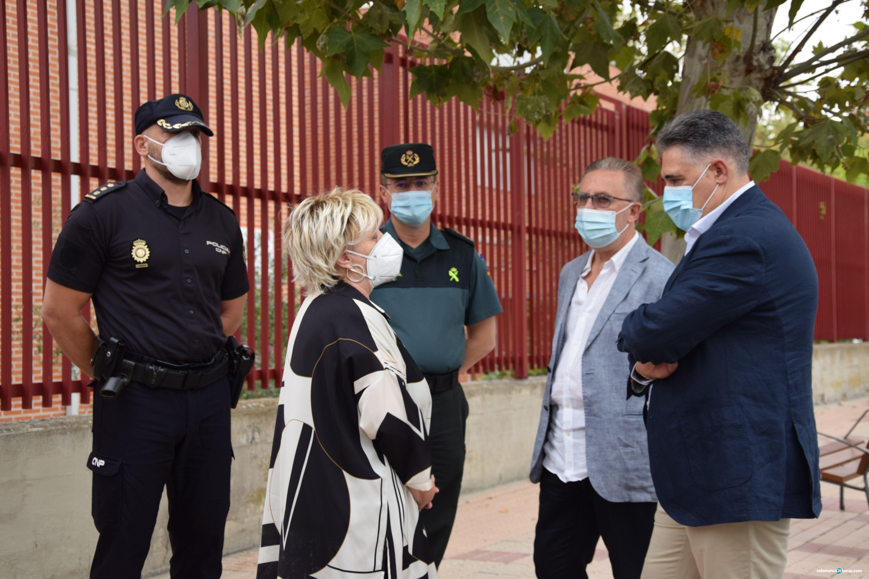 Visita subdelegada del gobierno al Venancio Blanco