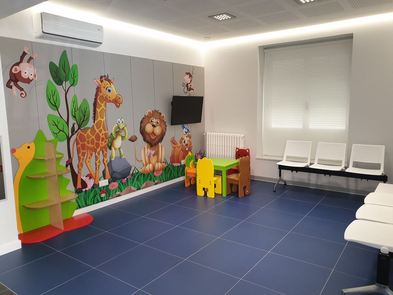 Sala de espera pediatru00eda policlinicas