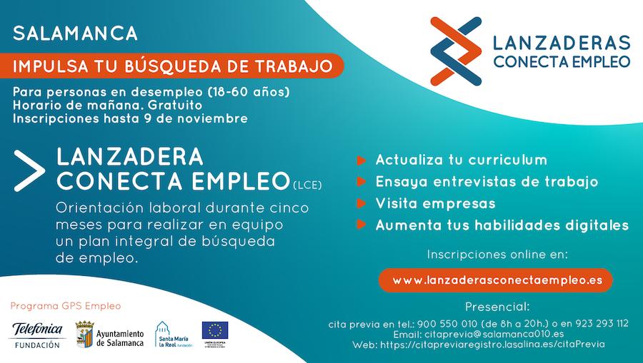 Cartel LCE Salamanca