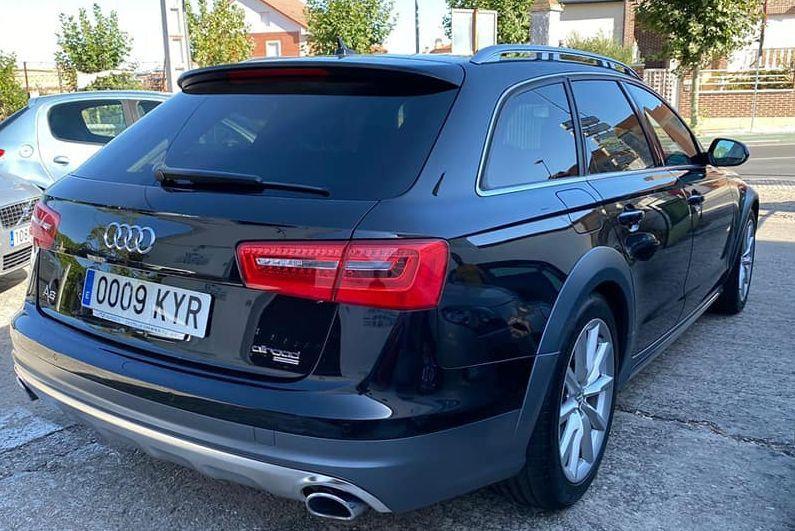 Audi robado 2