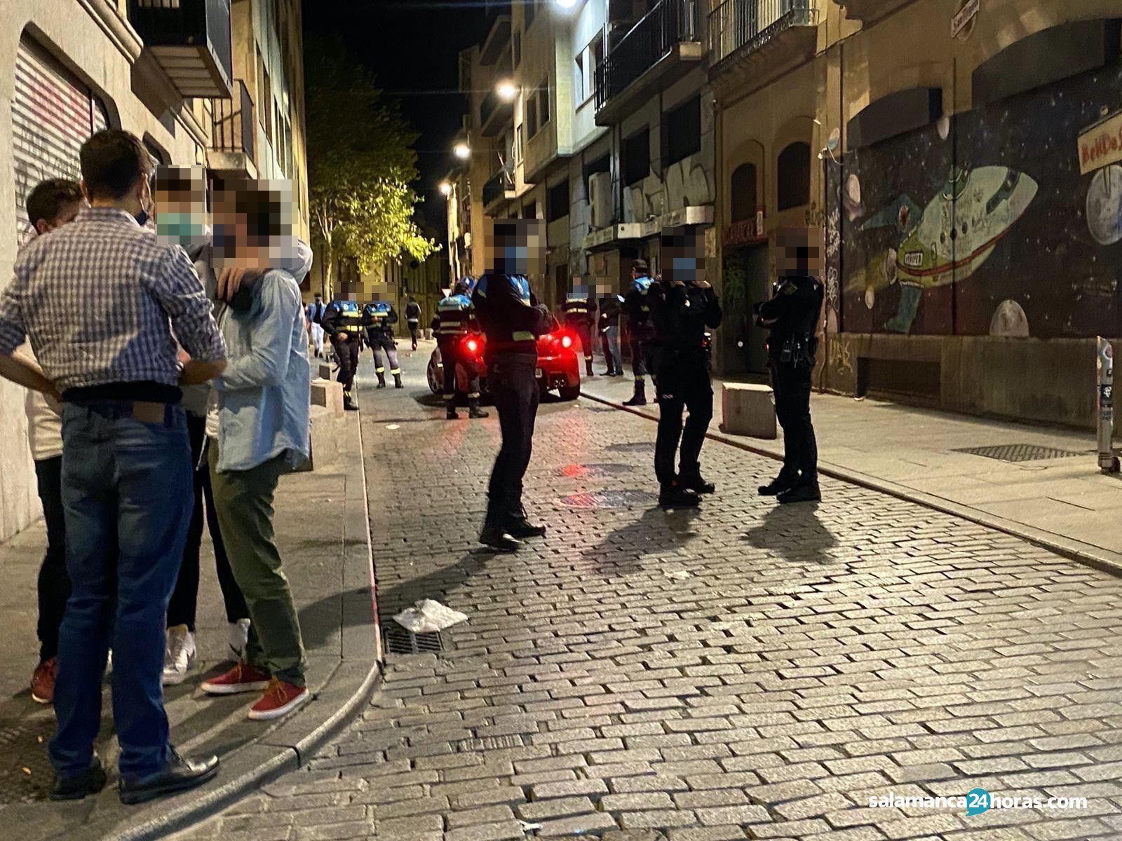 Polici?a en calle San Justo