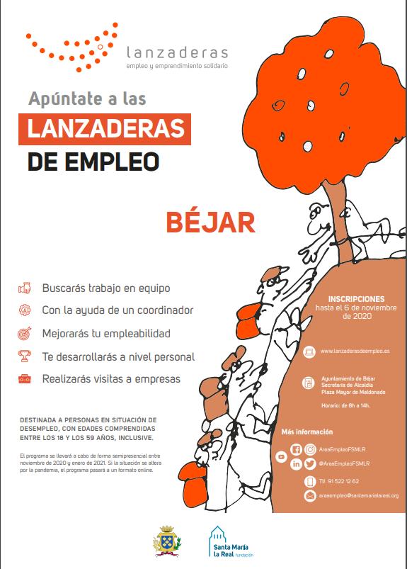 Cartel Lanzaderas de Empleo