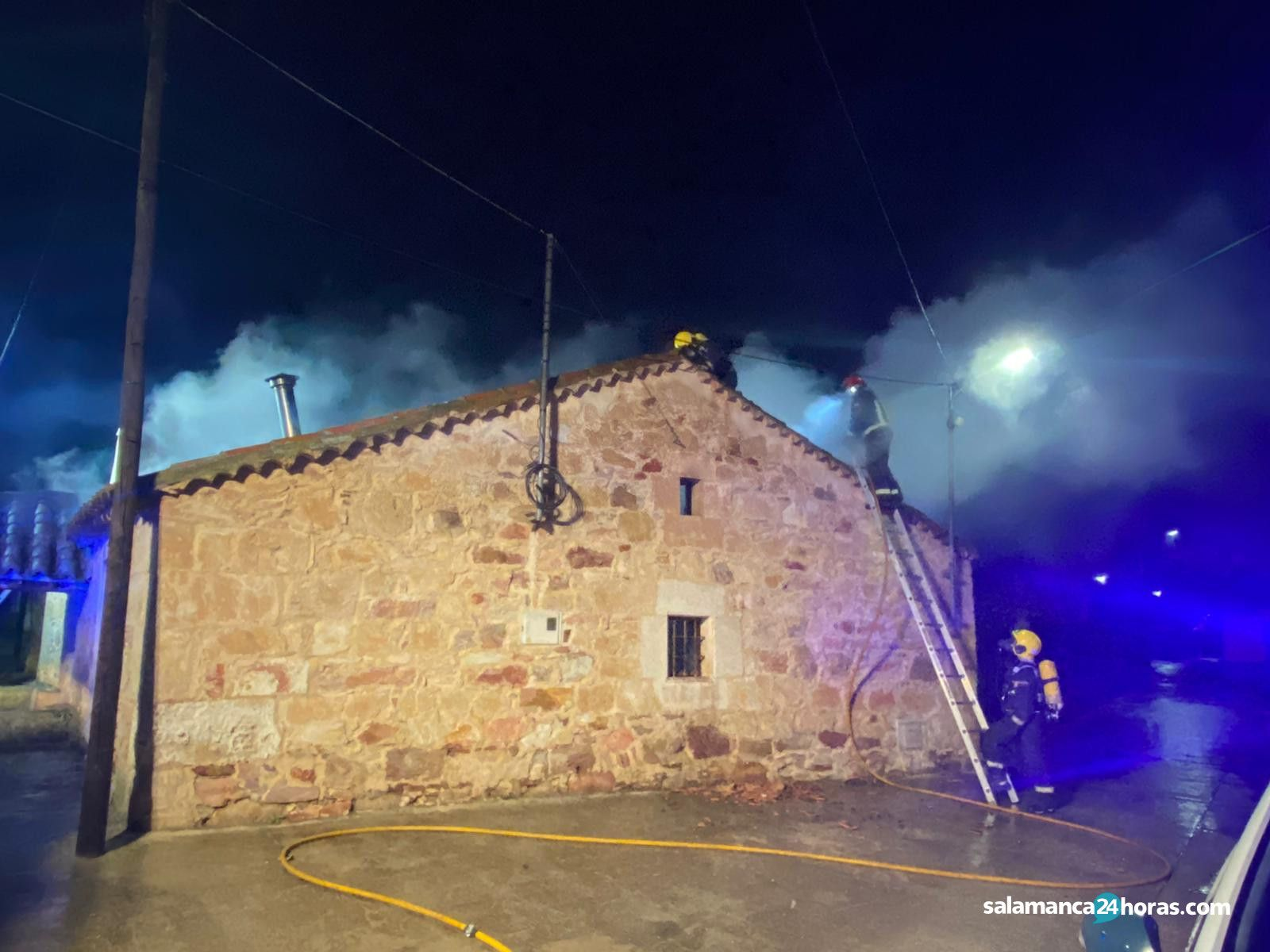 Incendio calle de la huertaWhatsApp Image 2020 10 21 at 07.54.52