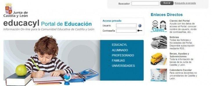 Calendario Educacyl.El Portal De Educacion Cumple Diez Anos Con Mas De 270 000 Usuarios