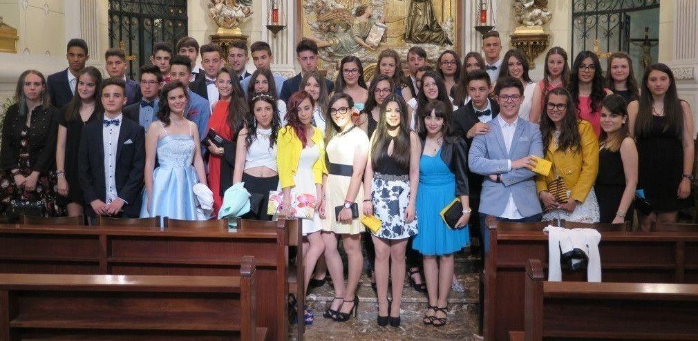 Graduación de cuarto de ESO del Colegio Sagrado Corazón
