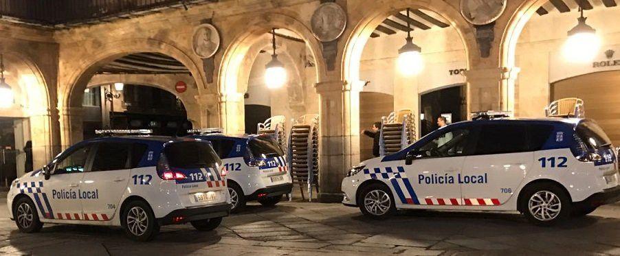 Detenido en la plaza mayor por agredir de madrugada a su for Cerrajeros salamanca 24 horas