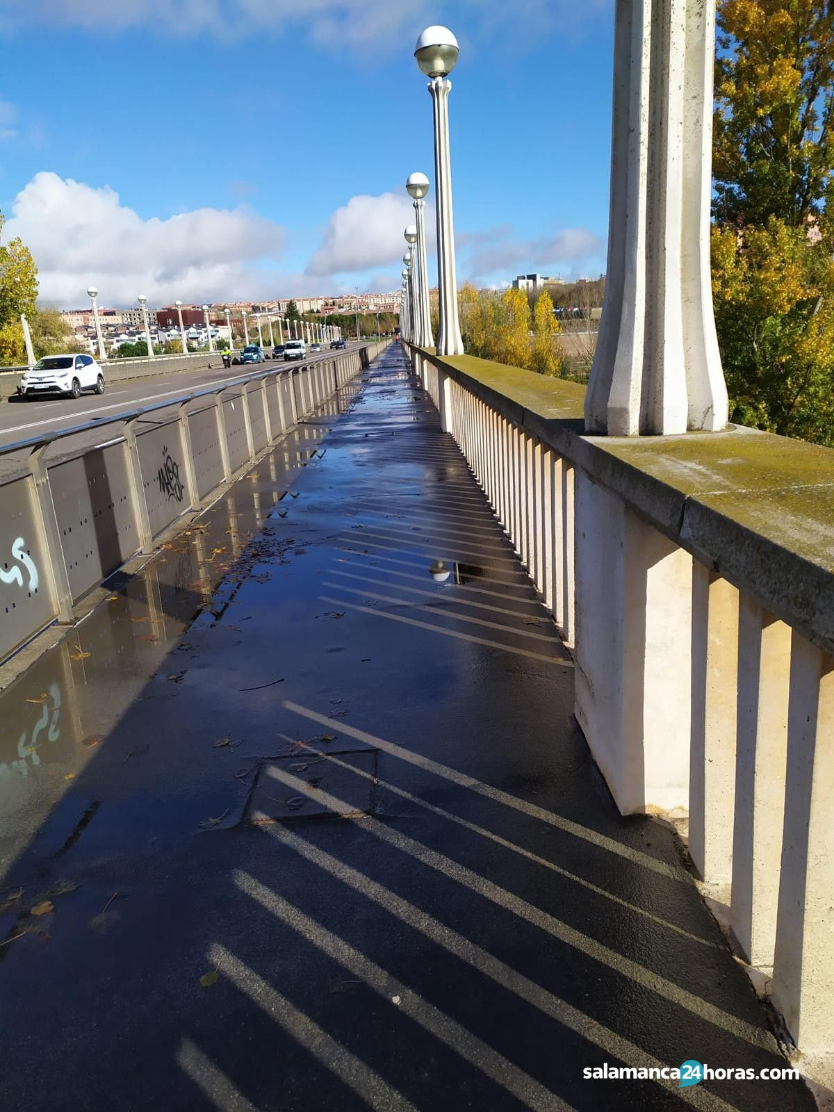 Puente Universidad 2 charcos