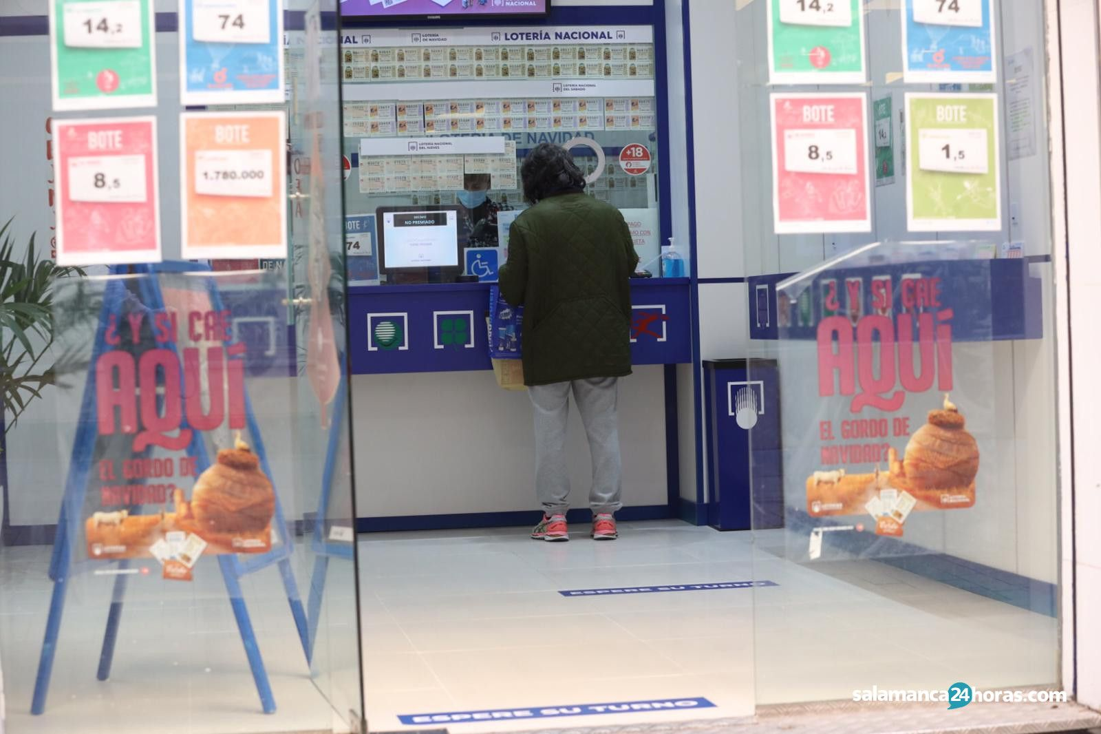 Lotería de Naviad 2020 2