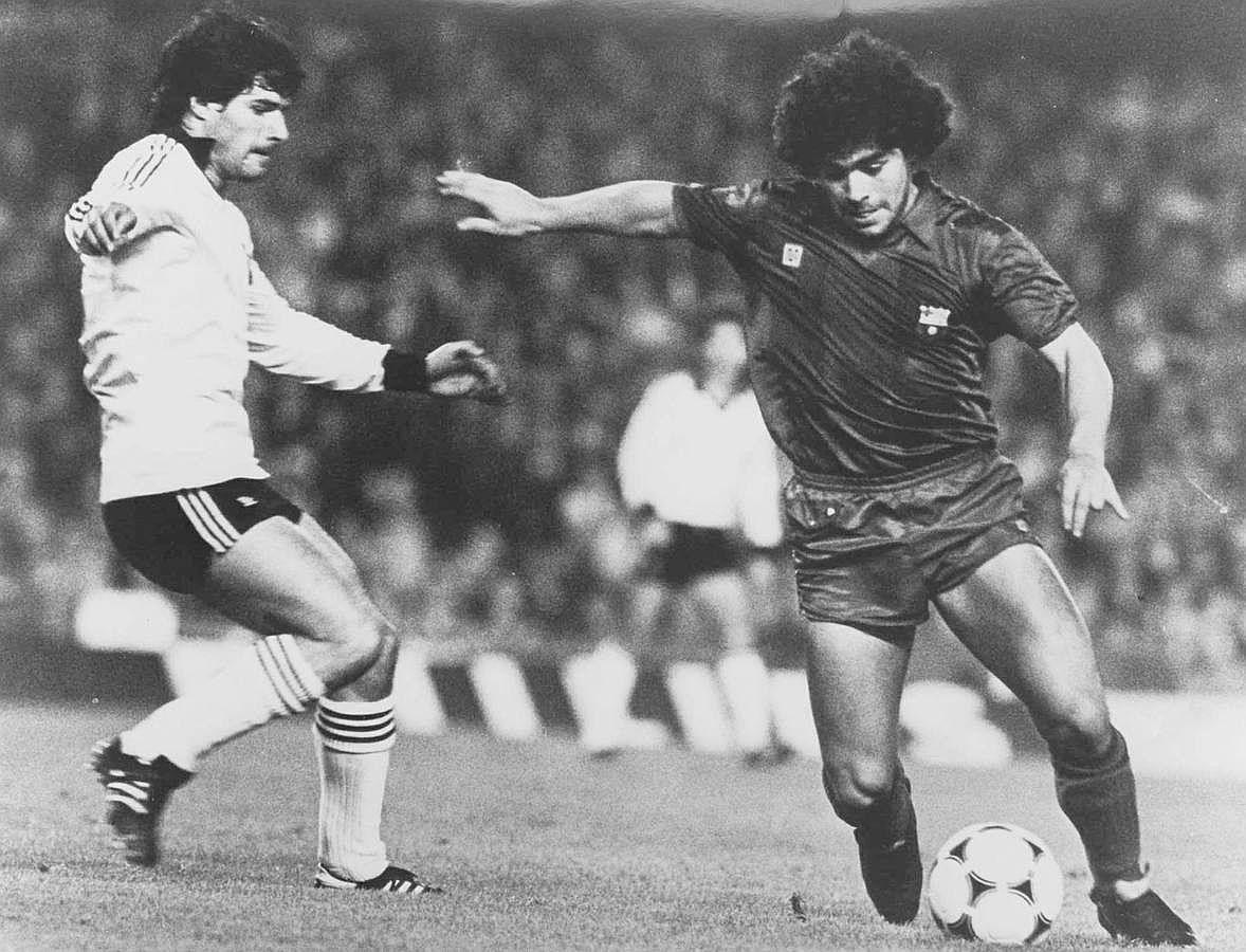 Maradona contra el salamanca