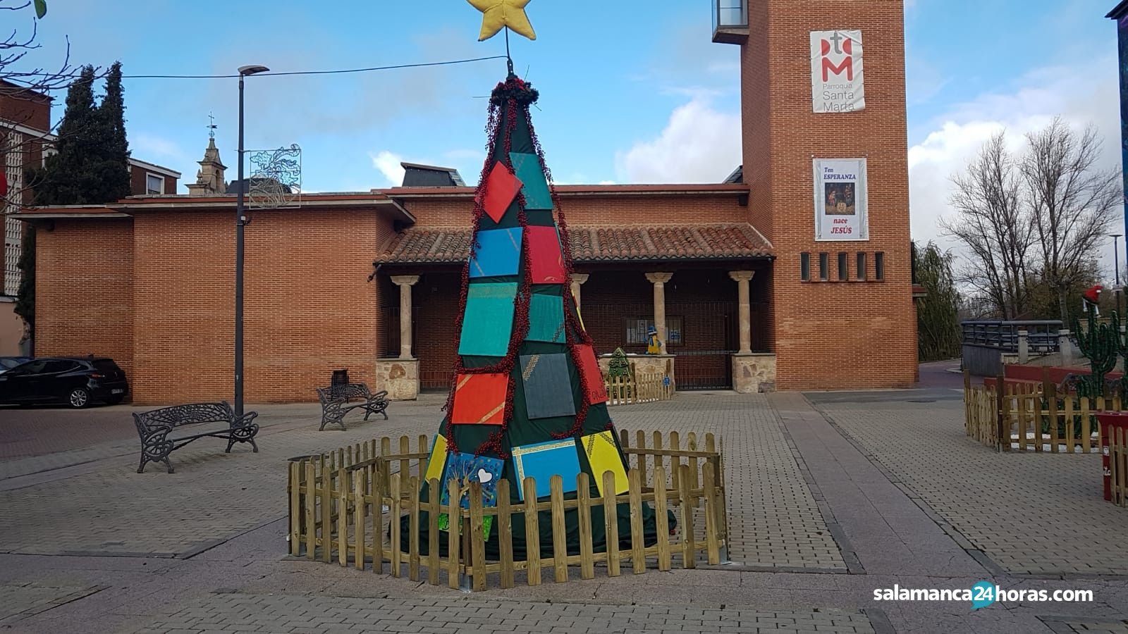 Poblado navidad Santa Marta RM (5)