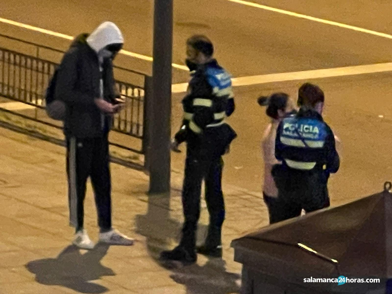 Policia local toque de queda (4)