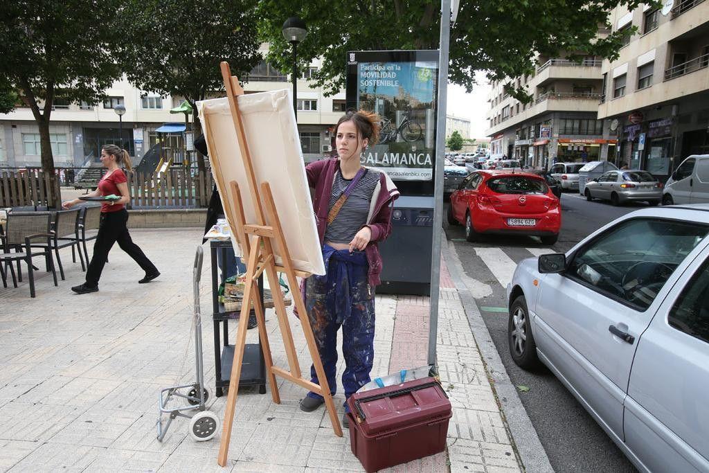 Regresa el certamen de pintura r pida al barrio del oeste for Cerrajeros salamanca 24 horas
