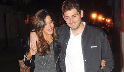 Sara con Iker
