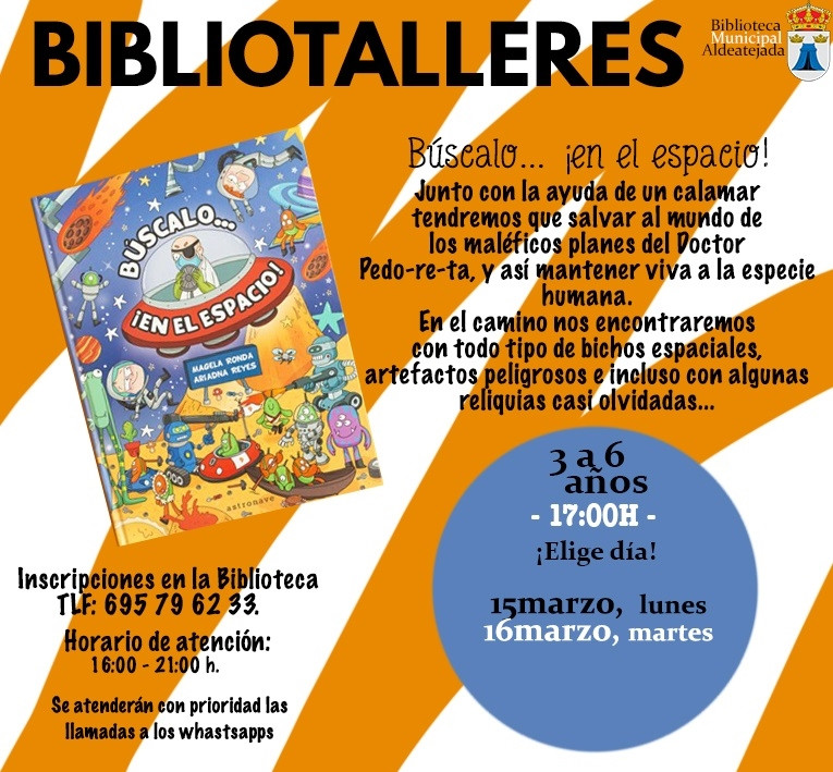 Bibliotaller15,16,marzo