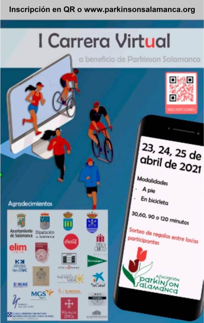 Cartel carrera virtual parkinson marzo 2021 20210323 1287786077
