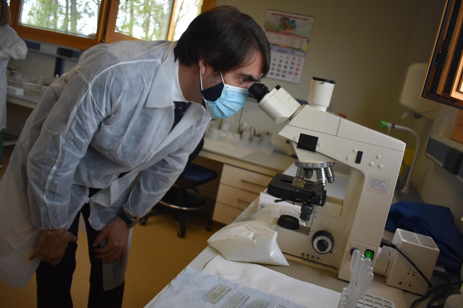 20210427 Visita Laboratorio Regional Sanidad